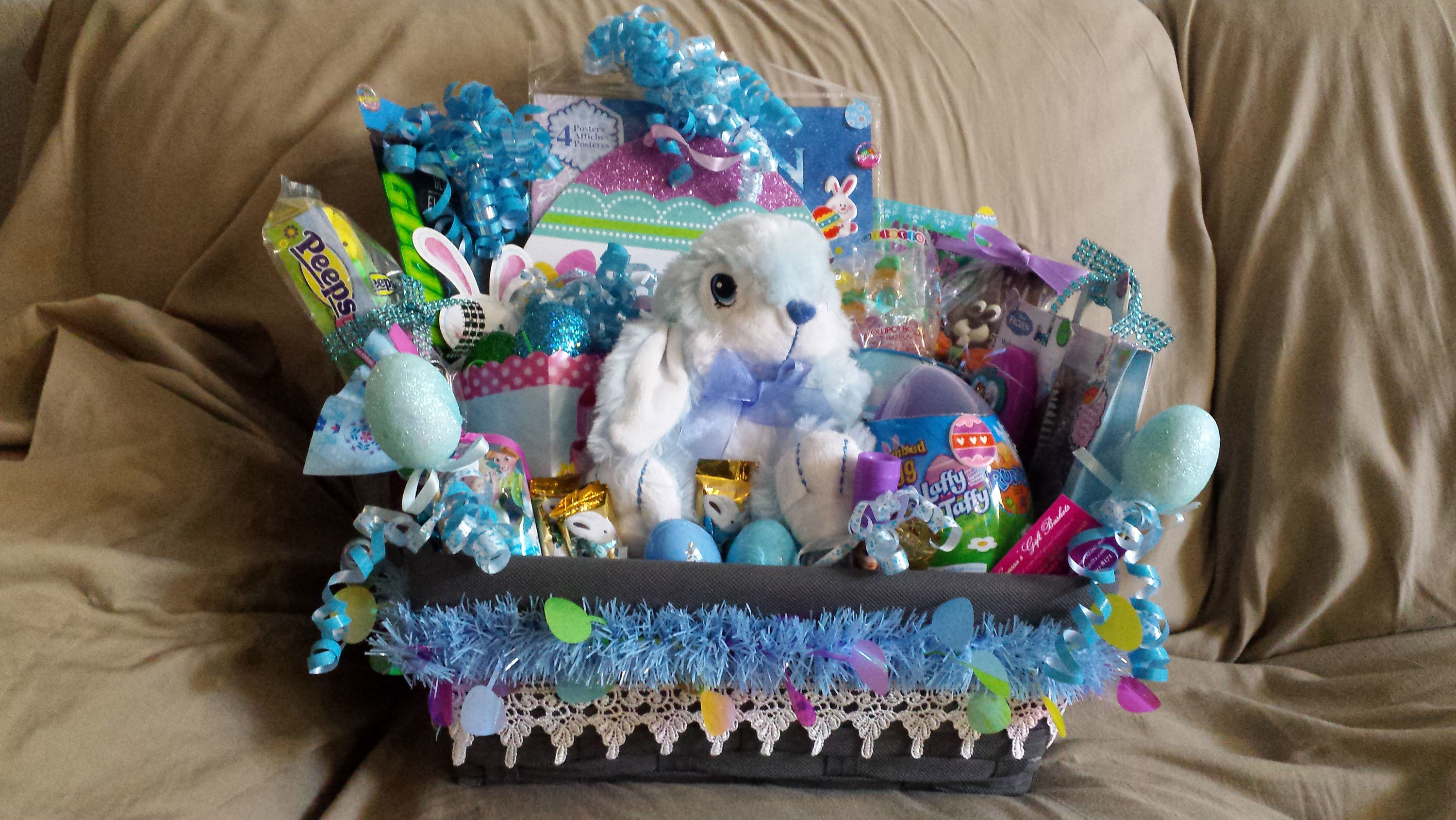 Grassas gifts gift baskets in st cloud florida for every occasion easter gift basket frozen negle Gallery